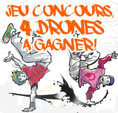 Jeu concours - 4 drones à gagner !